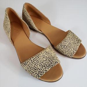 J. Crew leopard calfhair sandal size 7.5